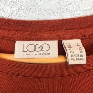 LOGO by Lori Goldstein Tops - LOGO by Lori Goldstein | Tunic Side Pocket Top